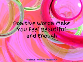 Positive Words For Youths