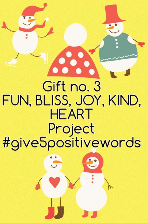Give 5 Positive Words Gift 3