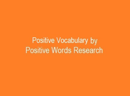 Positive Vocabulary