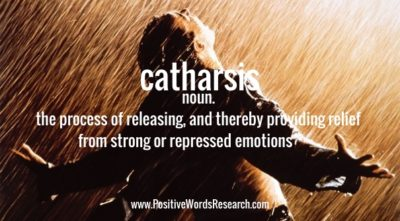 Catharsis Definition And Meaning Positive Words Research