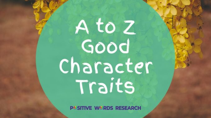 A-to-Z-Good-Character-Traits