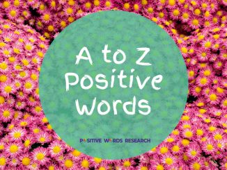 A-to-Z-Positive-Words