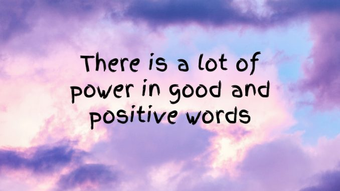 Good-and-Positive-Words-Power