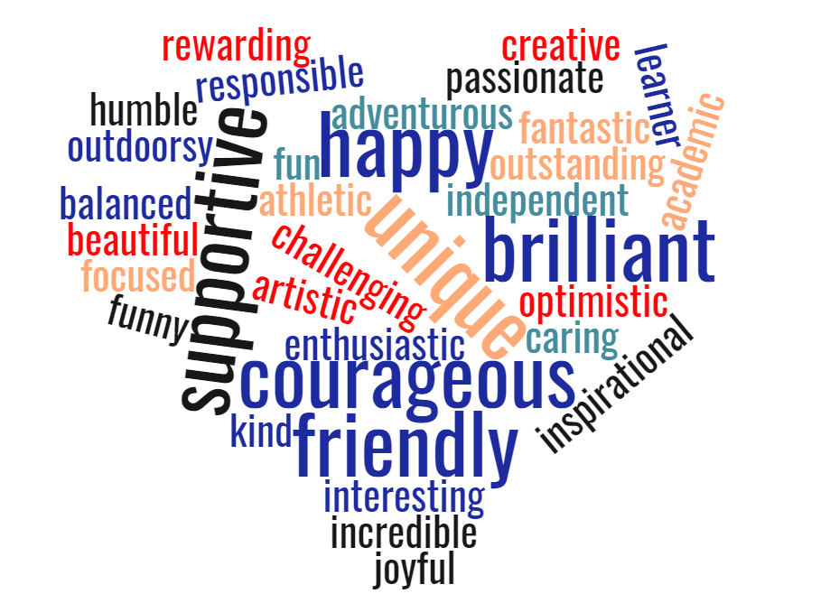 Positive Words to Describe Your First Year of College Experience